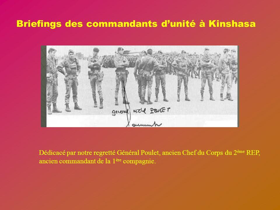 OBJECTIF KOLWEZI MAI 1978 La mise en alerte du régiment a eu lieu le matin du 17 MAI 1978 à 10H00, le rappel des permissionnaires et des stagiaires ef
