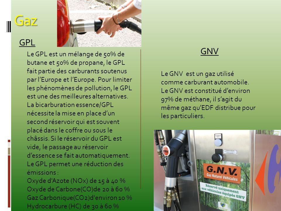 Gaz GPL GNV Le GPL est un mélange de 50% de butane et 50% de propane, le GPL fait partie des carburants soutenus par l'Europe et l'Europe. Pour limite