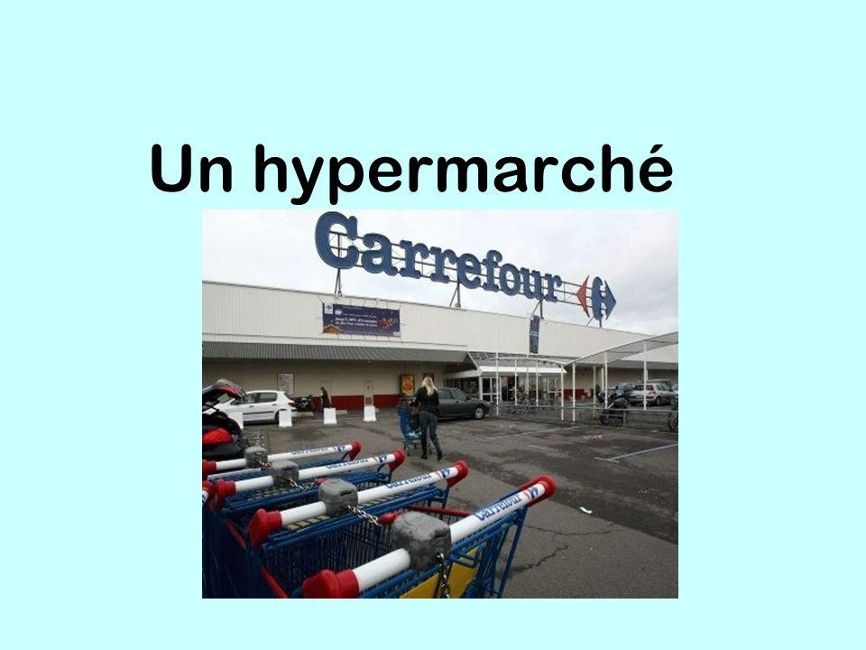 Un hypermarché