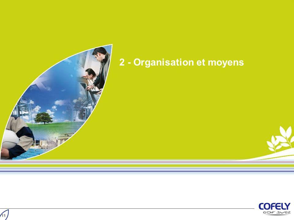 2 - Organisation et moyens 11