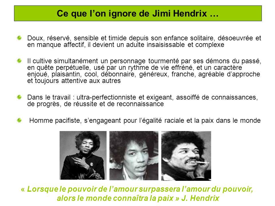 Sa famille Jimi Hendrix est né le 27 Novembre 1942 à Seattle, sous le nom de Johnny Allen Hendrix.