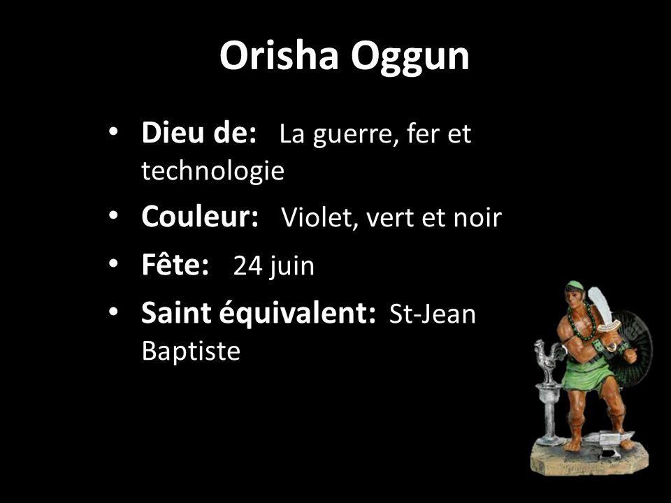 Orisha ElaguaSt-Joseph de Padoue