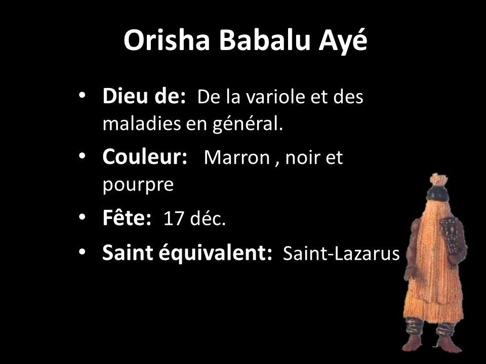 Orisha OchunVierge de la Caridad del Cobre