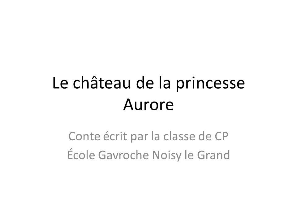 Le château de la princesse Aurore Conte écrit par la classe de CP École Gavroche Noisy le Grand