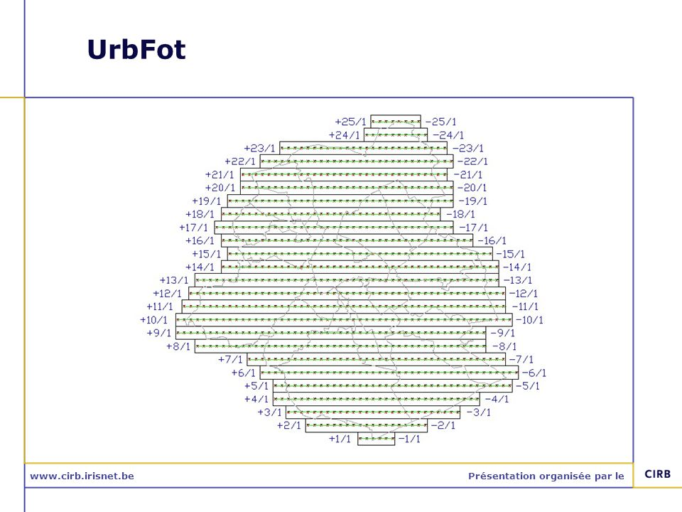 www.cirb.irisnet.bePrésentation organisée par le UrbFot