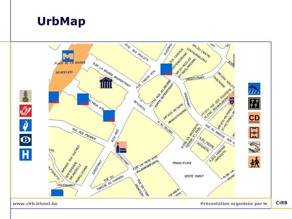 www.cirb.irisnet.bePrésentation organisée par le Utilisations: Bruxelles-Propreté
