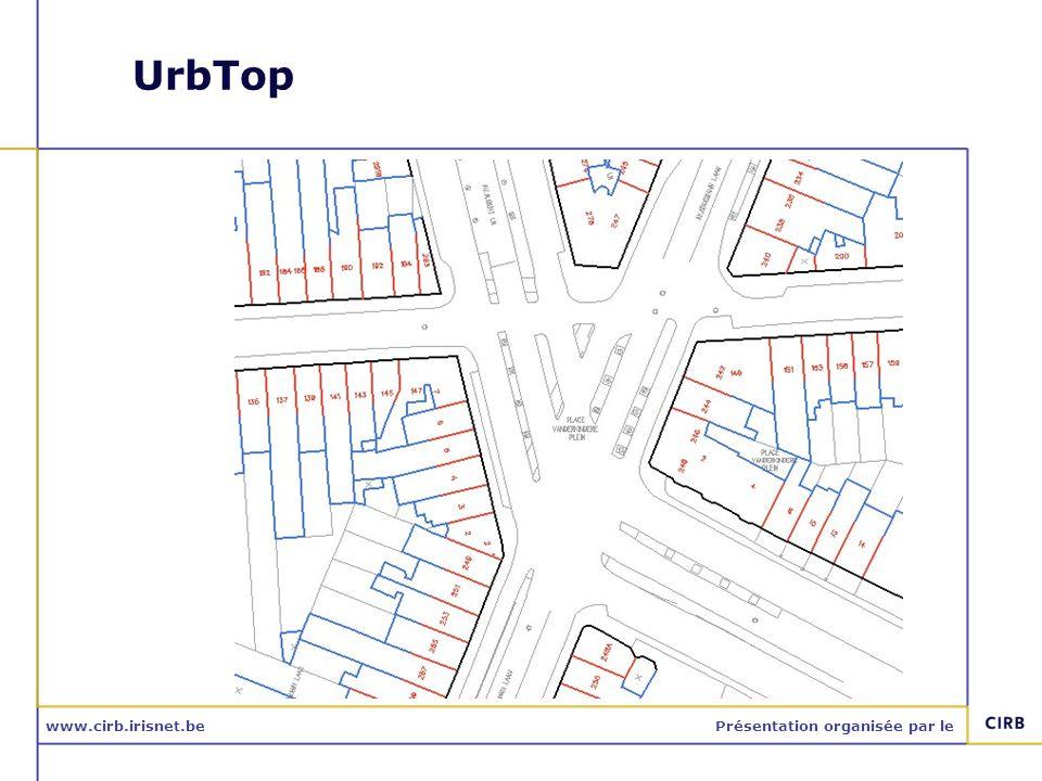 www.cirb.irisnet.bePrésentation organisée par le Utilisations: Itinéraires