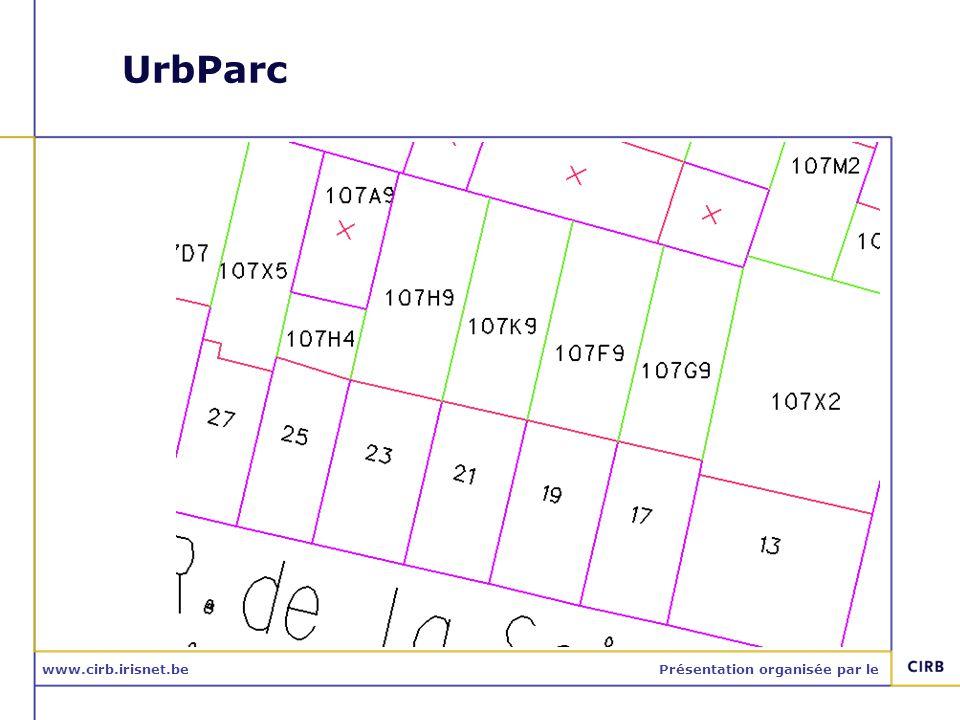 www.cirb.irisnet.bePrésentation organisée par le UrbParc