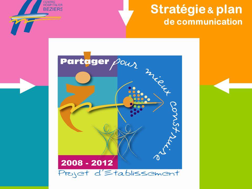 Stratégie & plan de communication du projet d'Etablissement service communication Un plan de communication Pour qui .