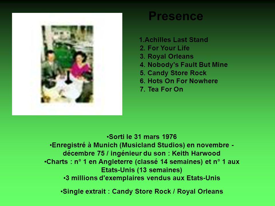 Box Set disque 1 1.Whole Lotta Love 2. Heartbreaker 3.