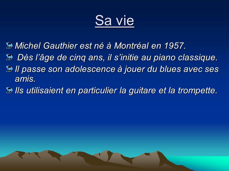 Ayant complété deux ans en Droit à l'Université de Montréal, il décide de se consacrer entièrement à la musique.