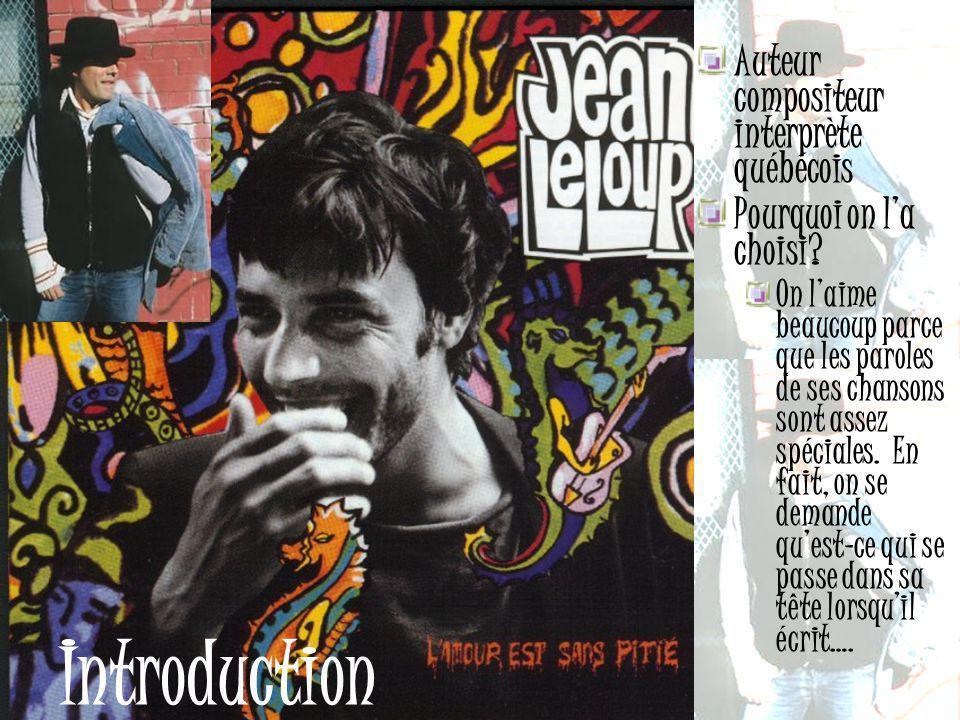 Où est Jean Leloup.