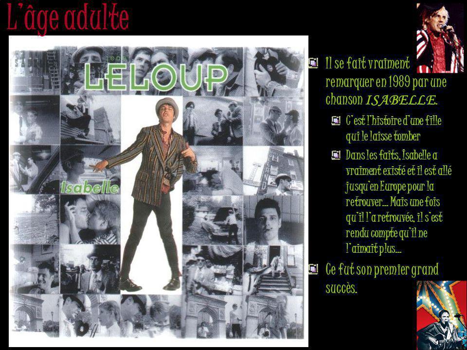 Le retour En 2006, il avoue recommencer à jouer de la guitare et lance finalement, en septembre, l album « Mexico » sous son véritable nom Jean Leclerc.