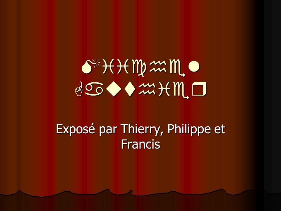 M  chel Gau  h  er Exposé par Thierry, Philippe et Francis