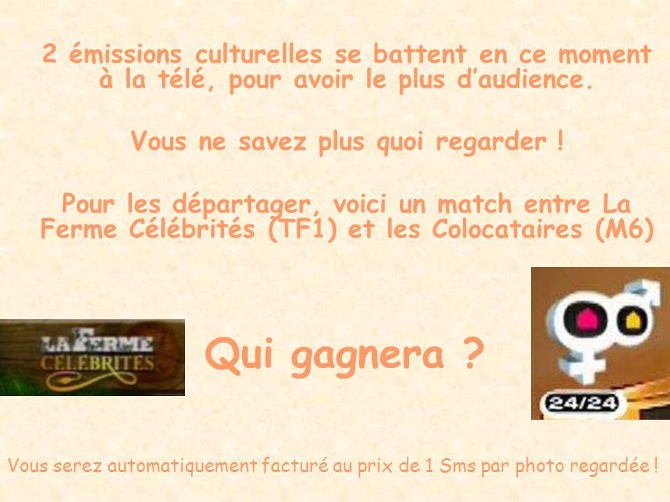 200/200 Total du match 199/100 La Ferme célébrités gagne ce match A bientôt pour la revanche !
