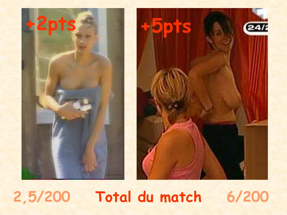 3/100 Total du match 58/100 +0,5pts +2pts + 50pts 0 de bonus