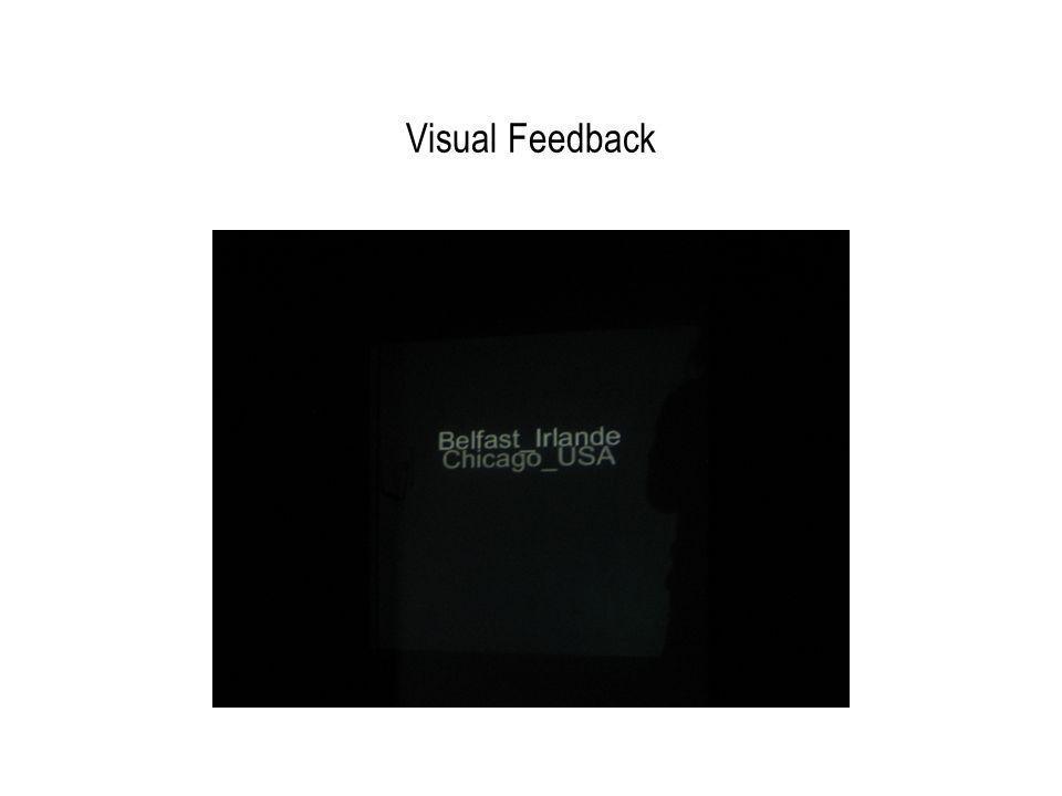 Visual Feedback