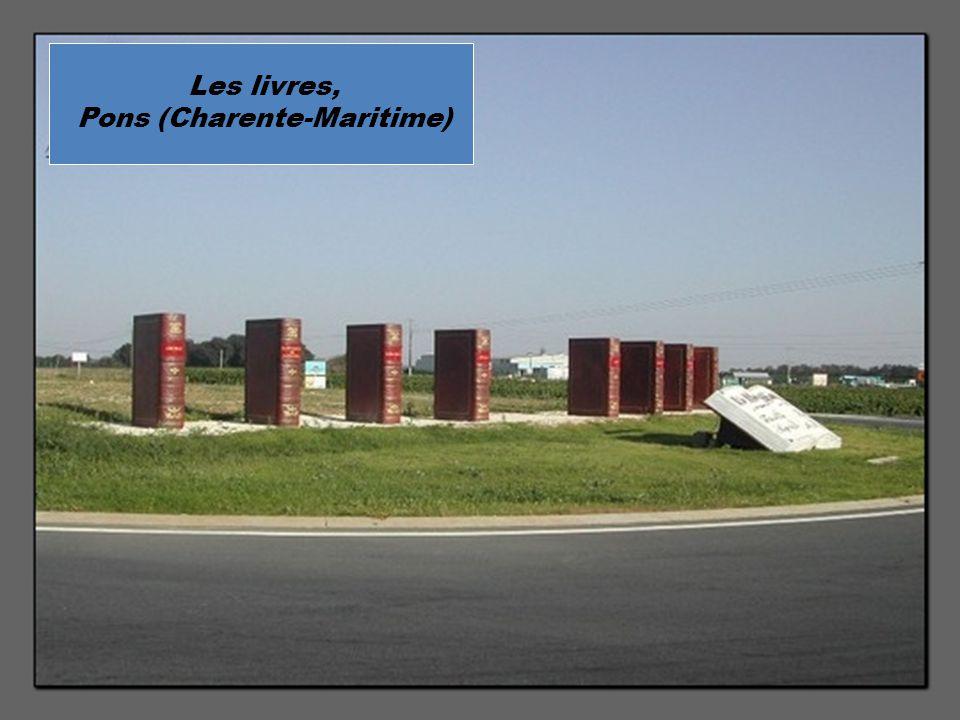 Les livres, Pons (Charente-Maritime)