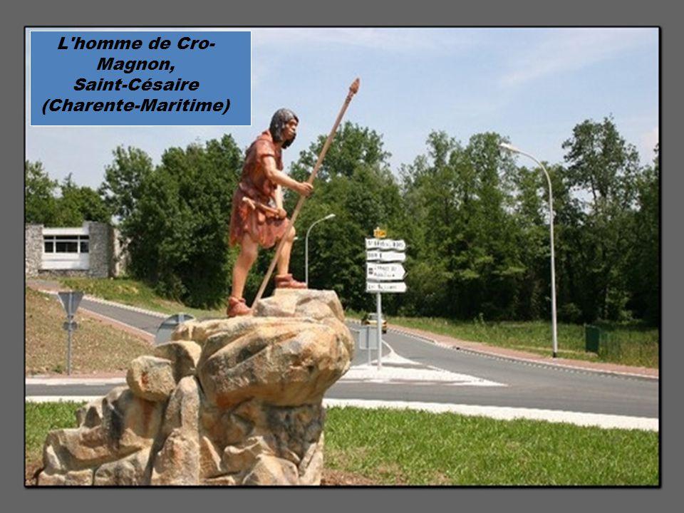 L homme de Cro- Magnon, Saint-Césaire (Charente-Maritime)