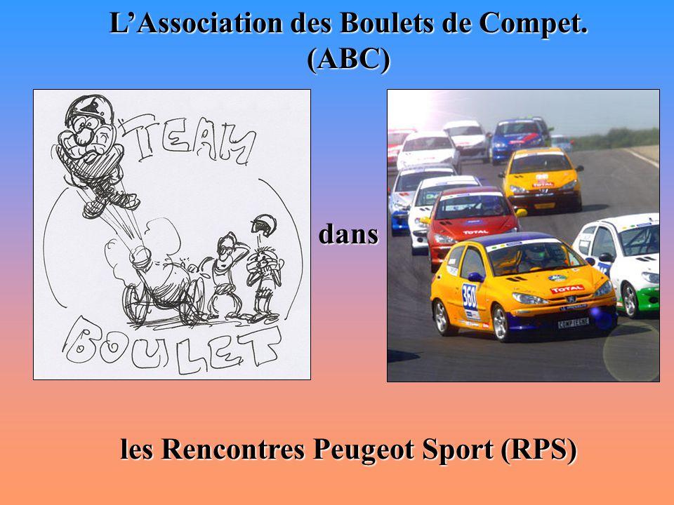 Sommaire I- Présentation des Rencontres Peugeot Sport (RPS) II- Présentation de l'Association des Boulets de Compet.