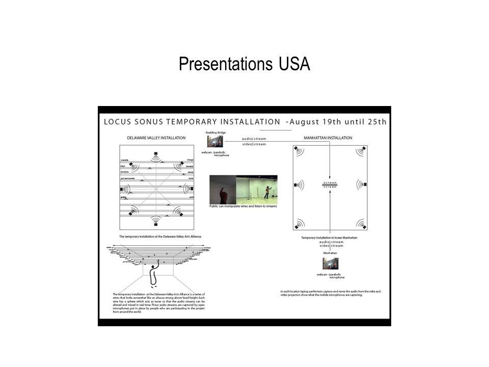 Presentations USA