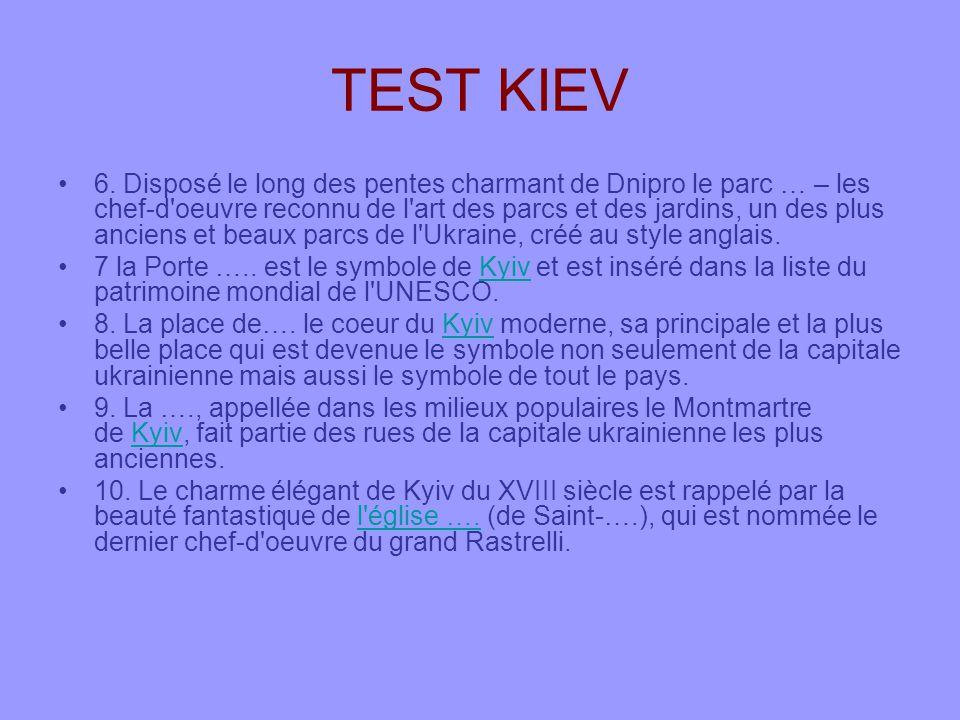 TEST KIEV 6.