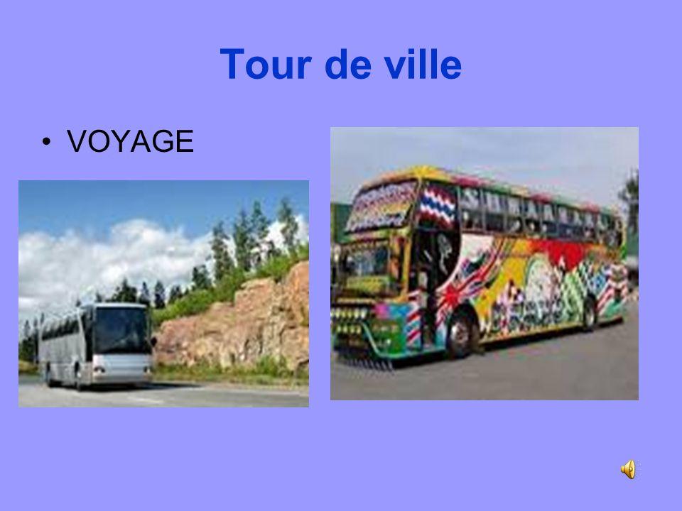Tour de ville VOYAGE