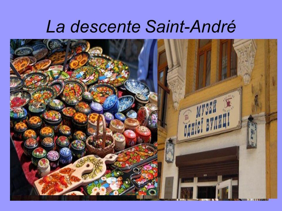 La descente Saint-André