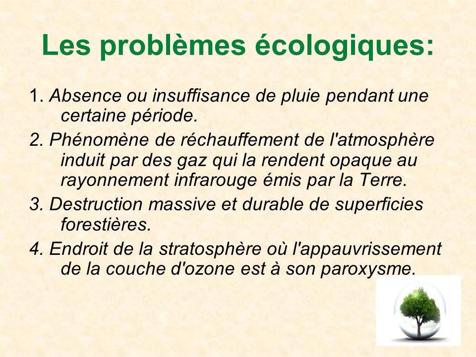 5.Phénomène hydrologique de débordement des cours d eaux hors de leur lit.