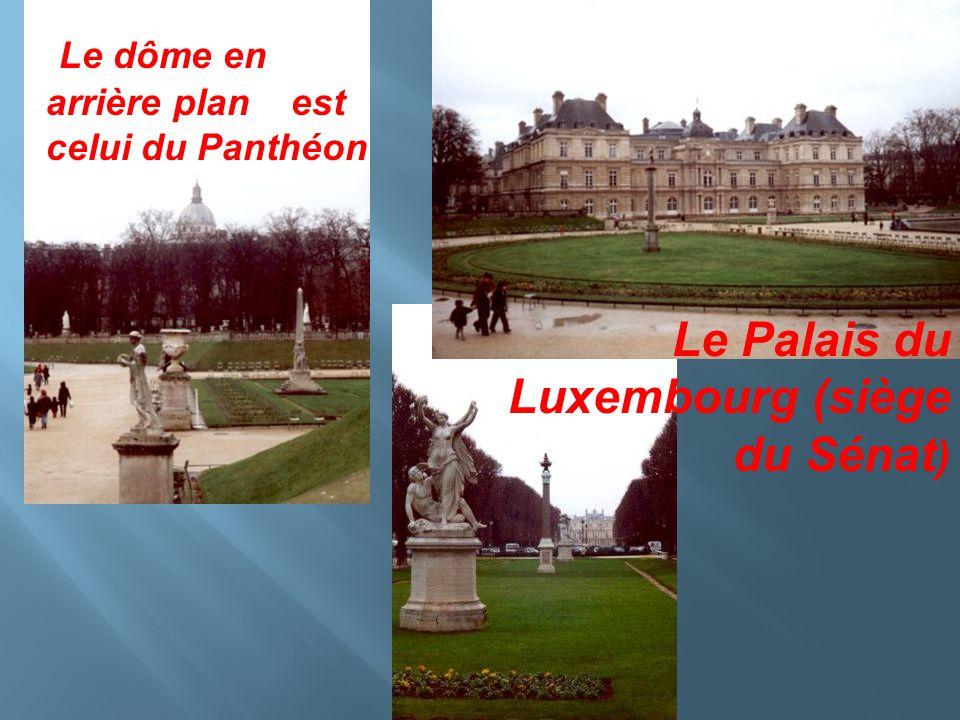Monument de Delacroix Un des plus beaux parcs de la rive gauche de Paris.