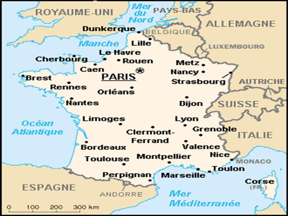 ...est une des régions de la France qui se trouve à...