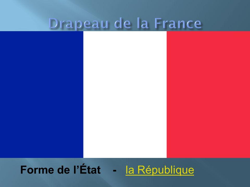 Forme de l'État - la Républiquela République