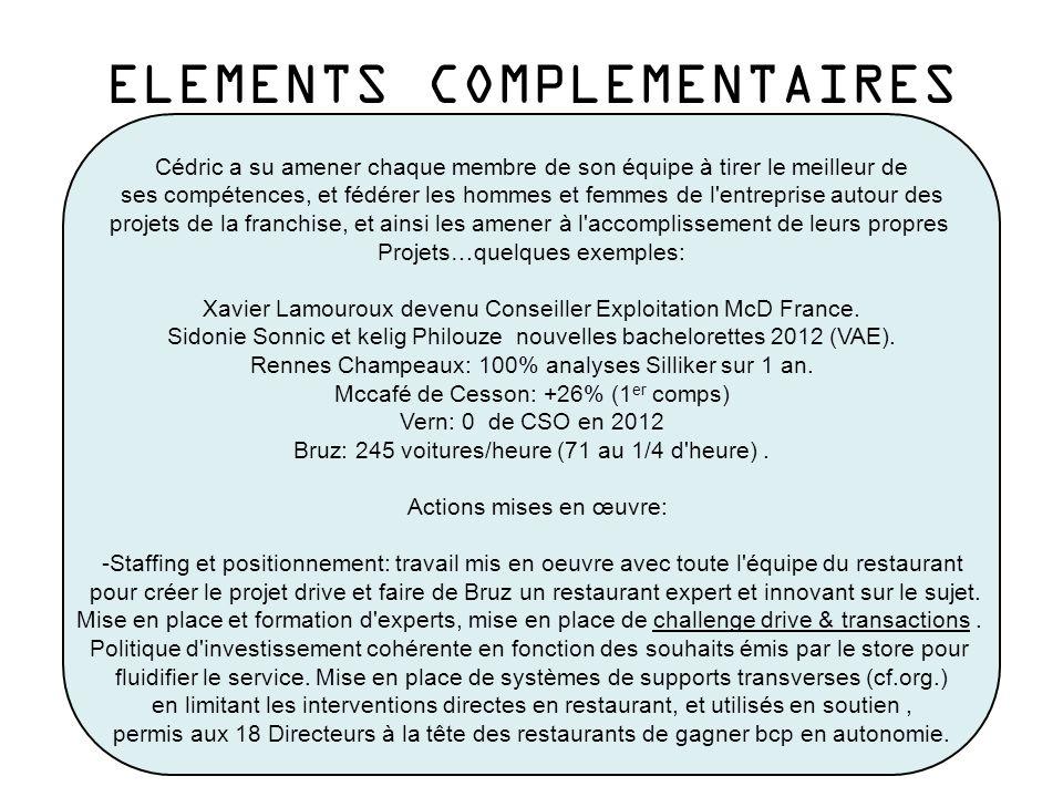 Cédric est à l origine de la signature de la charte environnement avec la Ville de Rennes, voir article ci-dessous: ELEMENTS COMPLEMENTAIRES
