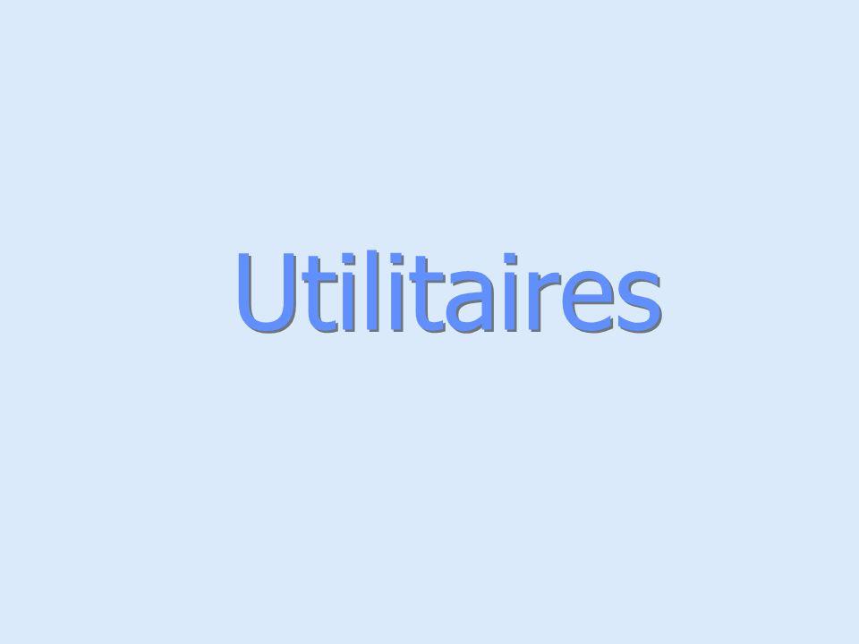 Utilitaires