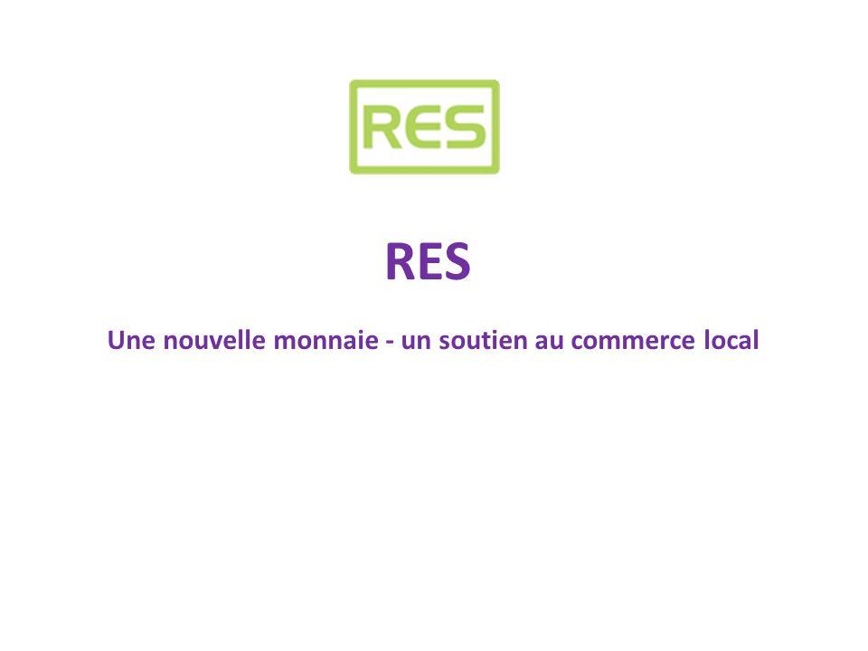 La Coopérative RES -Fondée à Louvain, Belgique en 1996 - Fondateur RES, Walther Smets -Aujourd'hui en Belgique plus de 5000 commerçants – coopérants - affiliés -Plus de 100.000 consommateurs avec une carte de paiement RES -Volume de transactions : 30.000.000 euro RES -Capital de la Coopérative RES scrl + Admin Leuven sprl : 705.531,51 € + 618.600 € -Concept basé sur le principe WIR (Suisse – 1934) et REGIOGELD (Allemagne) -RES est officialisé et reconnu par les autorités -RES vient d'être lancé en France (Nord / Lille) -En Espagne projet pilote avril 2012 (Girona, Catalunya – en collaboration avec l'Université de Girona) Une transparence totale
