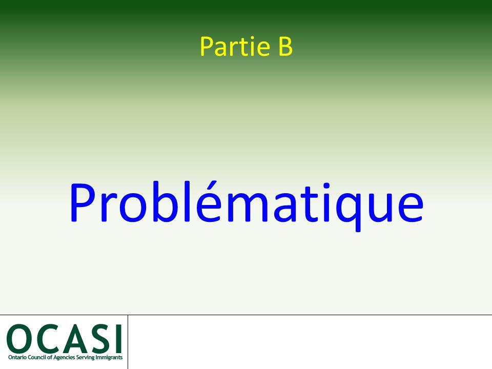 Partie B Problématique