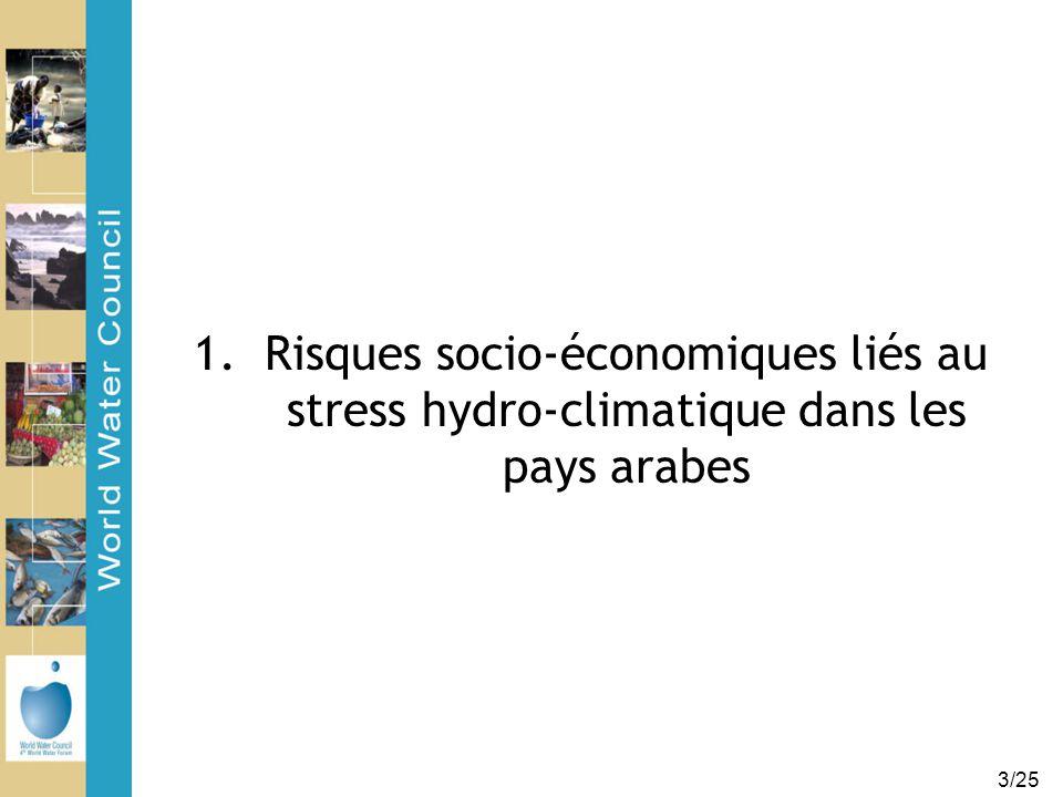 3/25 1.Risques socio-économiques liés au stress hydro-climatique dans les pays arabes