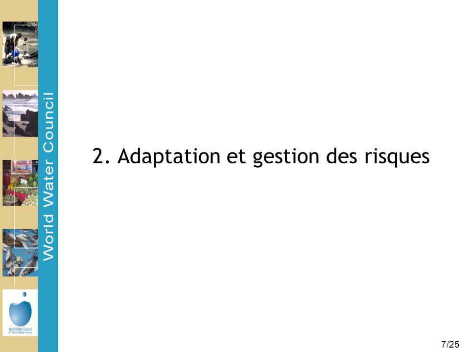 7/25 2. Adaptation et gestion des risques