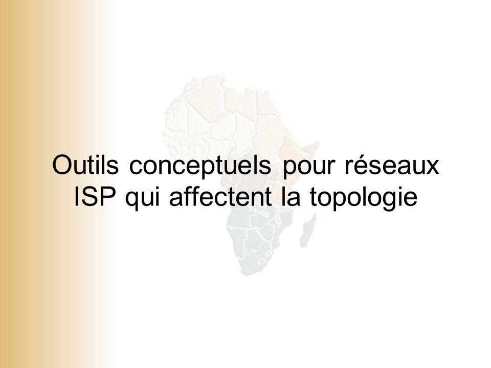 1 © 2001, Cisco Systems, Inc. All rights reserved. Outils conceptuels pour réseaux ISP qui affectent la topologie