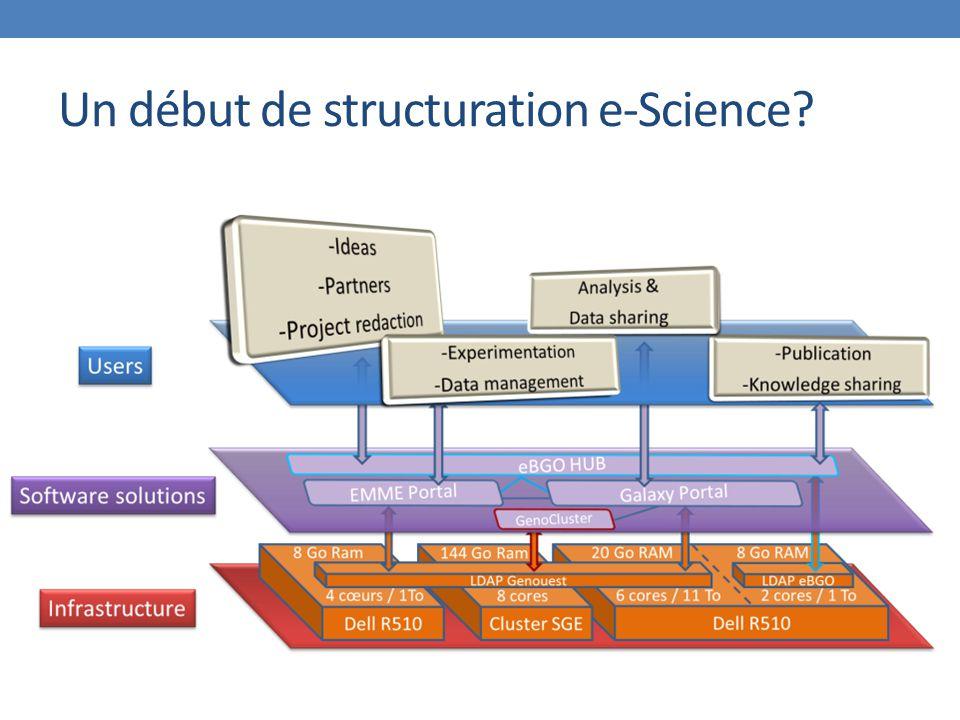 Un début de structuration e-Science?