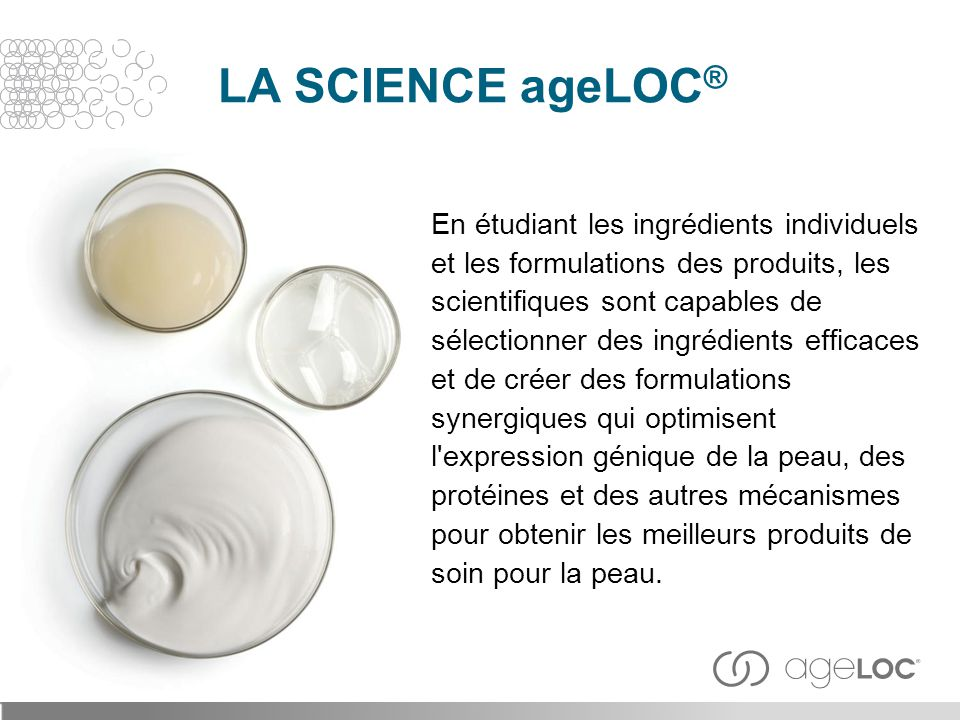 En étudiant les ingrédients individuels et les formulations des produits, les scientifiques sont capables de sélectionner des ingrédients efficaces et