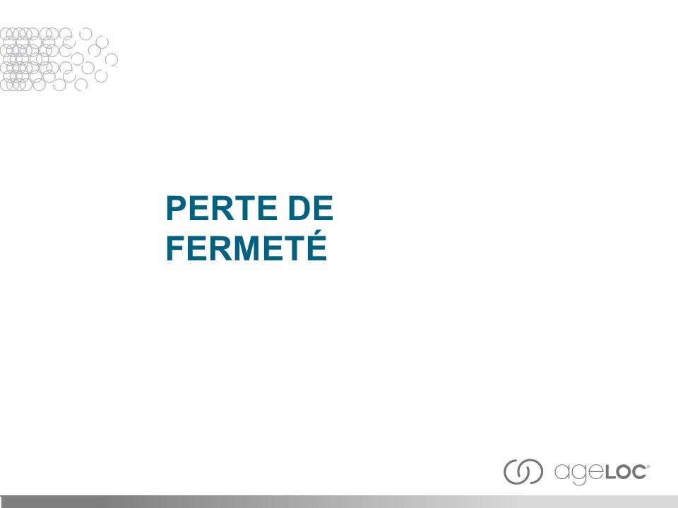 PERTE DE FERMETÉ