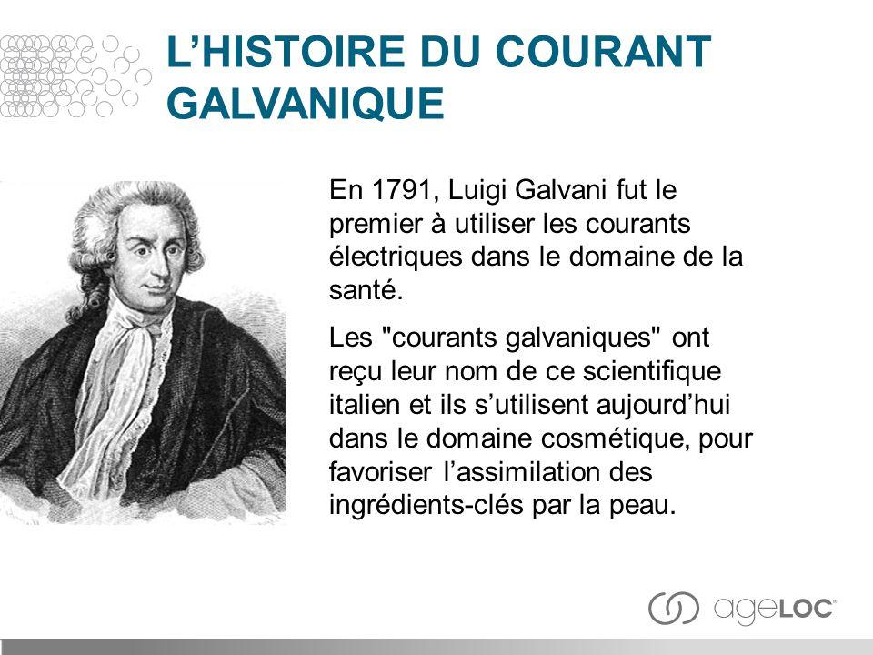 En 1791, Luigi Galvani fut le premier à utiliser les courants électriques dans le domaine de la santé. Les