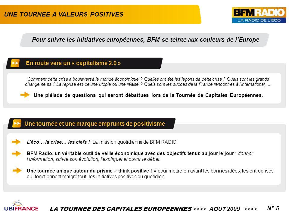 LA TOURNEE DES CAPITALES EUROPEENNES >>>> AOUT 2009 >>>>N° 5 Comment cette crise a bouleversé le monde économique ? Quelles ont été les leçons de cett