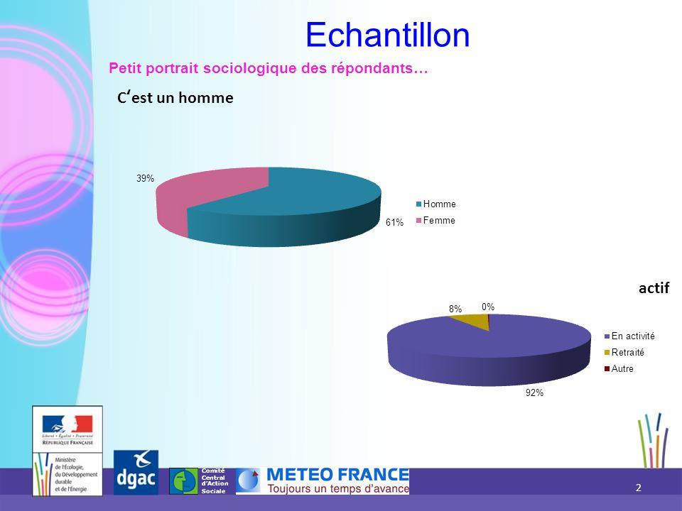 Comité Central d'Action Sociale Avez-vous bénéficié des activités proposées par l Association Nationale des Anciens Fonctionnaires de l Aviation Civile et de Météo France (ANAFACEM) .