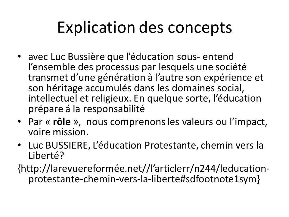 Introduction Pour aborder ce thème, nous essayerons de nous référer á l'histoire afin de dégager le rôle de l'éducation initiée par les réformateurs á l'époque des réformateurs, surtout sous l'égide de Martin Luther.