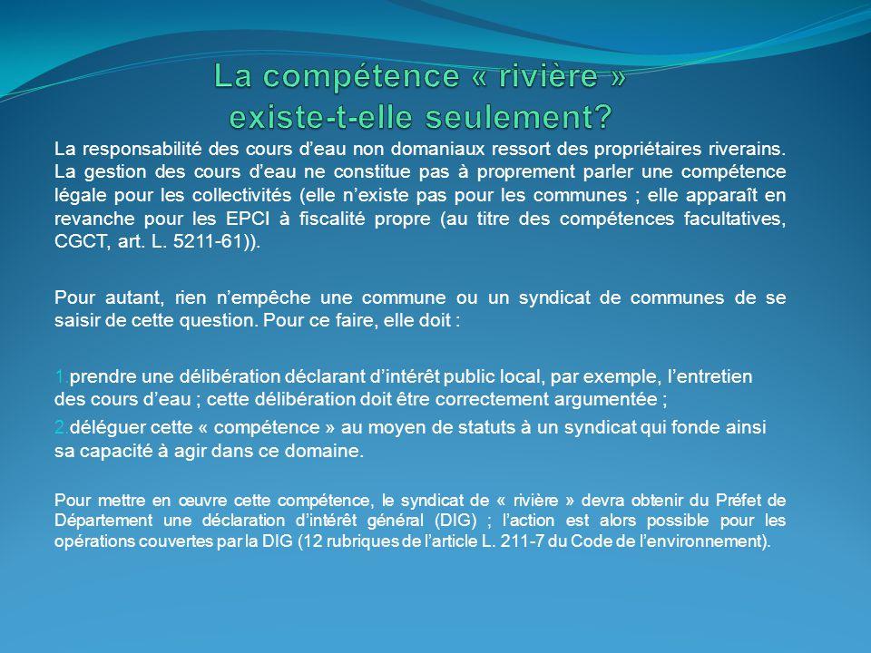 EPCI à FP = Communautés urbaines, d'agglomération et de communes Concurrence ou complémentarité entre EPCI à FP et Syndicat de communes .