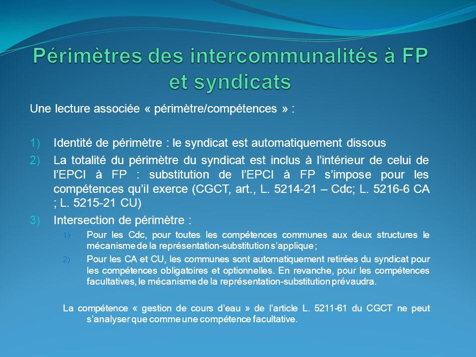 Le domaine de l'eau et des milieux aquatiques : une intervention reposant sur l'intérêt général Une question qui se pose à la lumière de la réforme des collectivités territoriales (SDCI, l'encadrement juridique des financements croisés) et de la requalification du rôle de l'Etat (DIG, EPTB) et des agences de l'eau (subventions).
