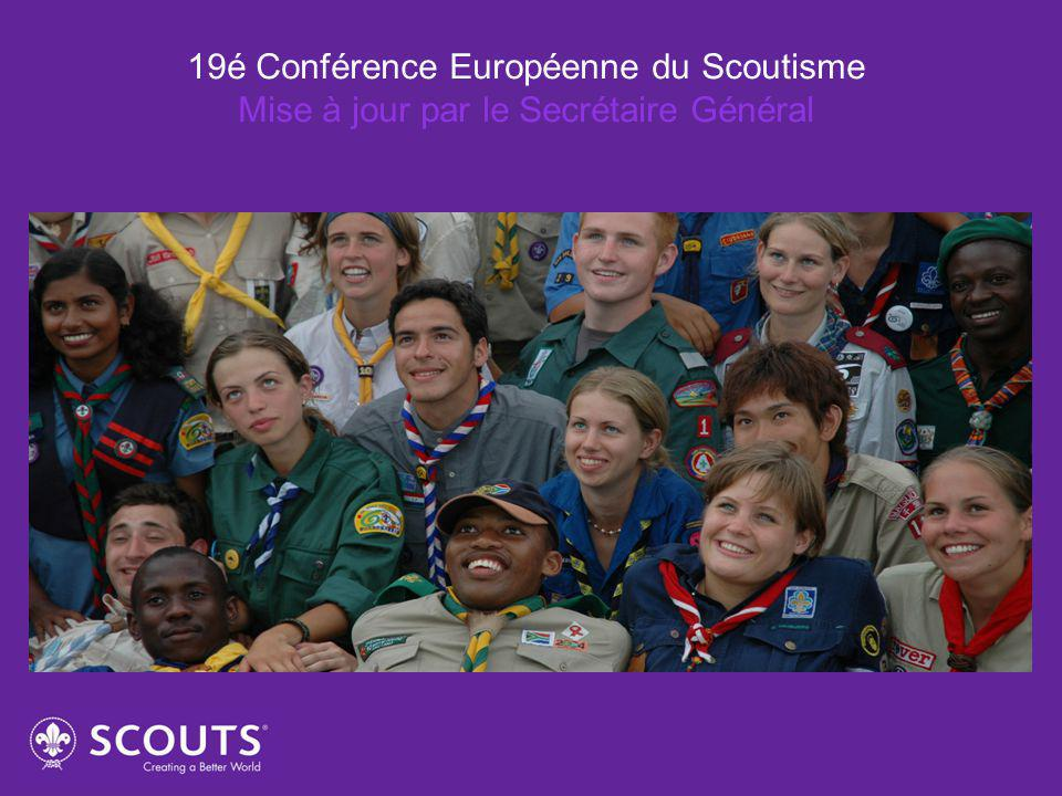 19é Conférence Européenne du Scoutisme Mise à jour par le Secrétaire Général