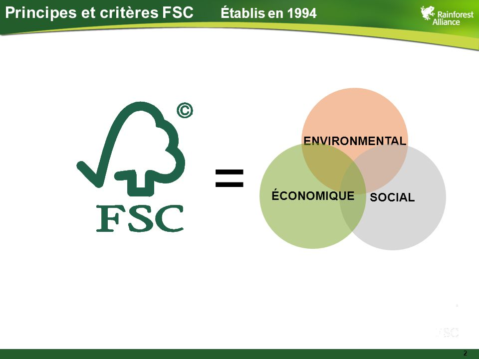 3 Contenu d'une norme forestière Globalement cohérente, adaptée aux besoins locaux Ceci peut être réussi en combinant : des principes généraux et des critères à l'échelle globale qui s'appliquent à tous les sites forestiers et toutes les situations des interprétations nationales ou régionales pour élaborer des normes nationales appropriées